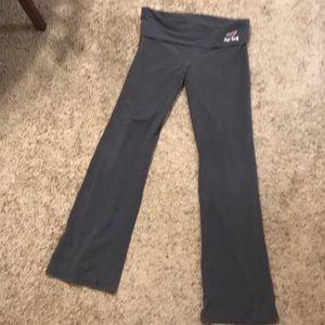 Gray yoga pants hollister large